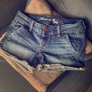 American Eagle Outfitters Shorts - American Eagle Stretch Cutoff Jean Short